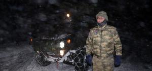 Tatvan'da yüzlerce kişi donmaktan kurtarıldı