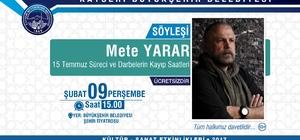 """Başkan Çelik, """"Eğitim Kadar Kültür Sanat Da Önemli"""""""