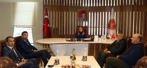 Nevşehirliler Federasyonu Başkanı Mustafa Şen'den Rektör Kılıç'a ziyaret