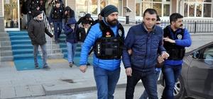 """Kırıkkale'deki """"torbacı"""" operasyonu"""