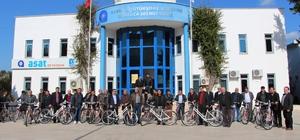 Büyükşehir'den Muhtarlara bisiklet