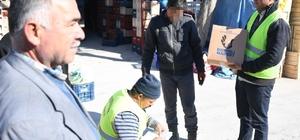 Büyükşehir Belediyesi'nden ihtiyaç sahiplerine 'Dosteli'