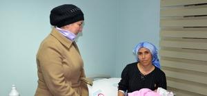 Başkan eşi Kılıç'tan anne Güler'e ziyaret