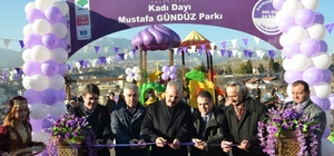Safranbolu'da park açılışı