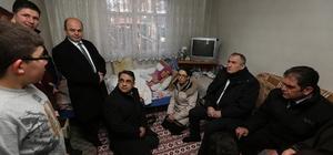 Bolu Belediye Başkanı Yılmaz 5 hastayı ziyaret etti