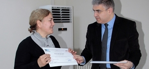 Nallıhanlı girişimciler sertifikalarını aldı