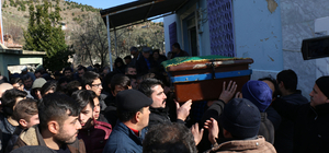 Aydın'da bir bölümü toprağa gömülü ceset bulunması
