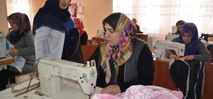 Muş'ta kadınlar iş hayatına hazırlanıyor