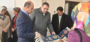 Hasankeyf'te yöresel kilim dokuma kursu açıldı