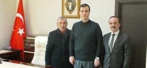 Kaymakam Vardar'a ziyaretler devam ediyor