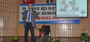 Kudret Armağan'dan 'aile içi iletişim' semineri