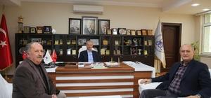 Alişan'dan Başkan Dişli'ye ziyaret