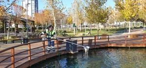 Şehitkamil'deki parklarda hummalı çalışma