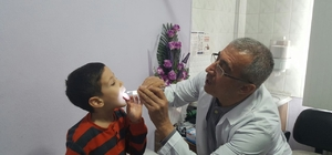 Demirci'de hızlı antijen testi uygulaması başladı