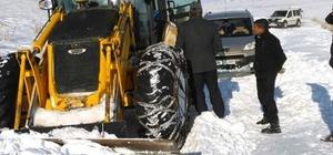 Özalp'ta mahsur kalan 83 araç kurtarıldı