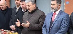 BBP Genel Başkanı Destici Afyonkarahisar'da: