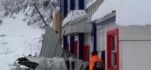 Trabzon'daki etkili kar