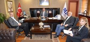 Ali Özkan'dan Bursa Defterdarı Atılğan'a ziyaret