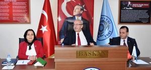 Başkan Albayrak Muratlı Belediyesi'nin Meclis Toplantısı'na katıldı