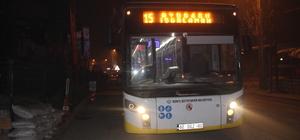 Otobüs şoförü bıçaklandı