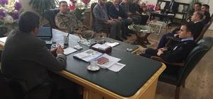 Kaymakam Özderin, başkanlığında ilçe koordinasyon toplantısı yapıldı