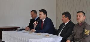 Buharkent'te ilçe güvenlik toplantısı yapıldı
