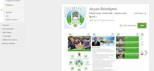 Akyazı Belediyesi mobil uygulaması hizmete girdi