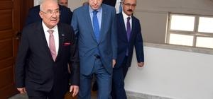 Cumhurbaşkanı Erdoğan, Başkan Kocamaz'ı ziyaret ette