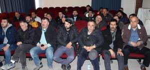 """Emirdağ Belediyesi çalışanlarına """"iş sağlığı"""" anlatıldı"""