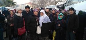 125 kişilik kafile umre için yola çıktı