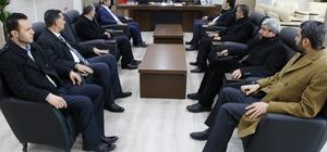 Haliliye Belediye Başkanı Demirkol'dan Bozova ziyareti