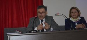 Küçük Millet Meclisi'nde Anayasa paketi ve termik santraller anlatıldı