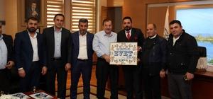 Van Kültür Evi, Başkan Kadıoğlu'nu ziyaret etti