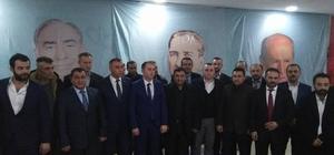 MHP Amasya Merkez İlçe Başkanlığına Şuayip Ak seçildi