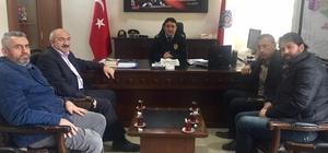 Sorgun TSO, İlçe Emniyet Müdürü Sapmaz'a hayırlı olsun ziyaretinde bulundu