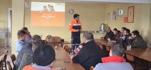 Malkara'da afet bilinci eğitimi