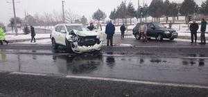 İncesu'da Maddi Hasarlı Trafik Kazası