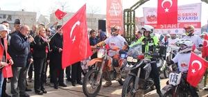 Şehit Fethi Sekin Enduro Yarışı başladı
