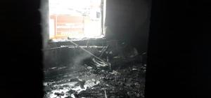 Kulu'da gurbetçi ailenin evinde yangın