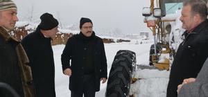 Başkan Genç, karla mücadeleyi anlattı