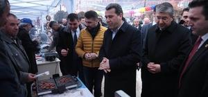 Vali Çelik, Dövme Sucuk Festivali'ne katıldı