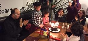 Kaymakam Yazar doğum günü partisinde çocuklarla buluştu