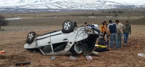 Burdur'da trafik kazası: 1 ölü 2 yaralı