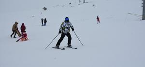 Nemrut Kayak Merkezine yoğun ilgi