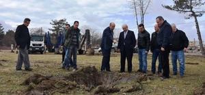 Başkan Albayrak Hayrabolu'da incelemelerde bulundu