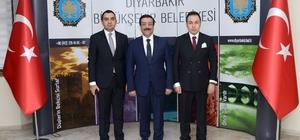 Silvan ve Ergani'den Başkan Atilla'ya ziyaret