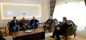 Kayserispor'un yeni yönetiminden başkan Palancıoğlu'na ziyaret