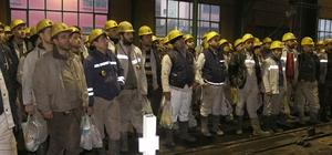 GMİS yönetimi Kozlu'da madenciyi bilgilendirdi