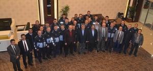 Ereğli Belediyesi zabıtasına eğitim semineri