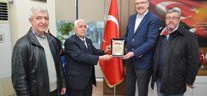 Bosna Derneği'nden Özkan'a ziyaret